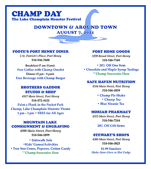 Champ Day Downtown