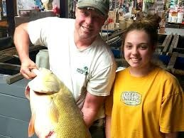 Record breaking Drum Fish