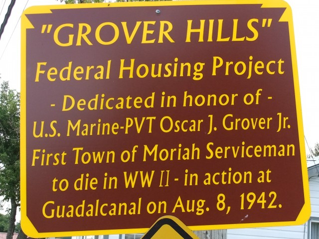 Grover Hills Sign