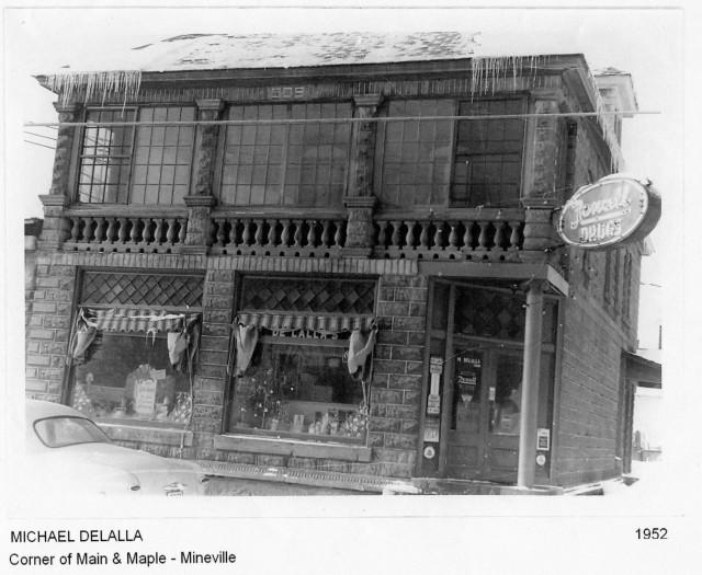 Mineville's Rexall Drug store
