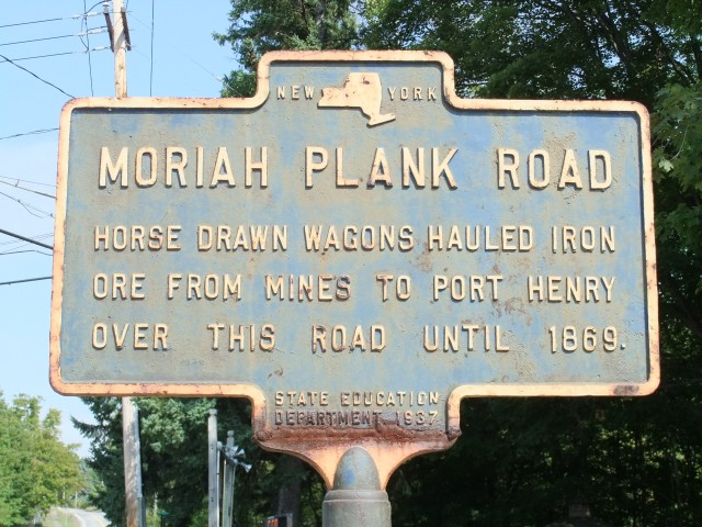 Plank Road sign