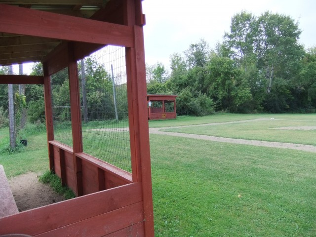Dugout at John Pepper Memorial Field