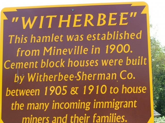 Witherbee sign