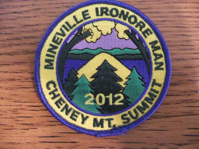 Cheny Mt - Mineville Iron Ore Man patch