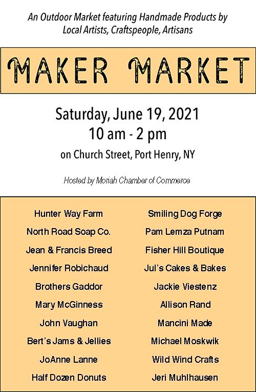 Maker Market List