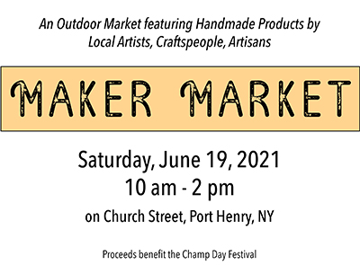 Maker Market Flyer