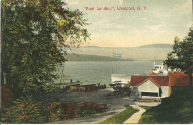 Boat Landing in Westport