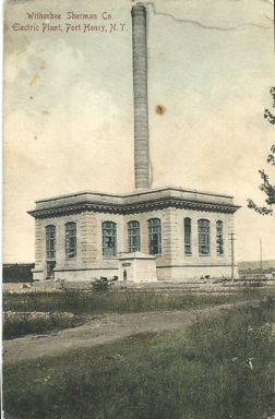Another view of the Mineville powerhouse