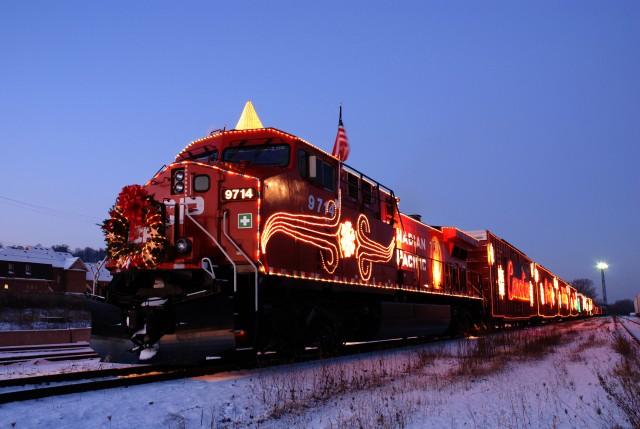 CP Rail's Holiday Train